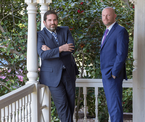 Ward & Barnes, P.A., Attorneys at Law Partners Scott C. Barnes and Austin R. Ward