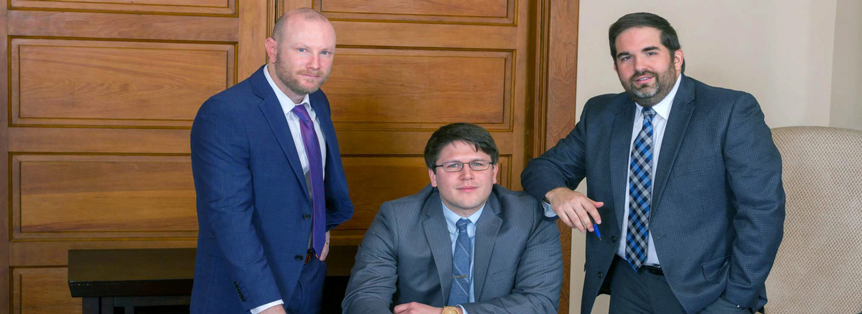 Attorneys Scott C. Barnes, Austin R. Ward and Geoffrey H. L. Pittman of Ward & Barnes, P.A., Attorneys at Law