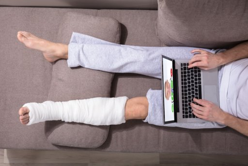 Social Media use when injured