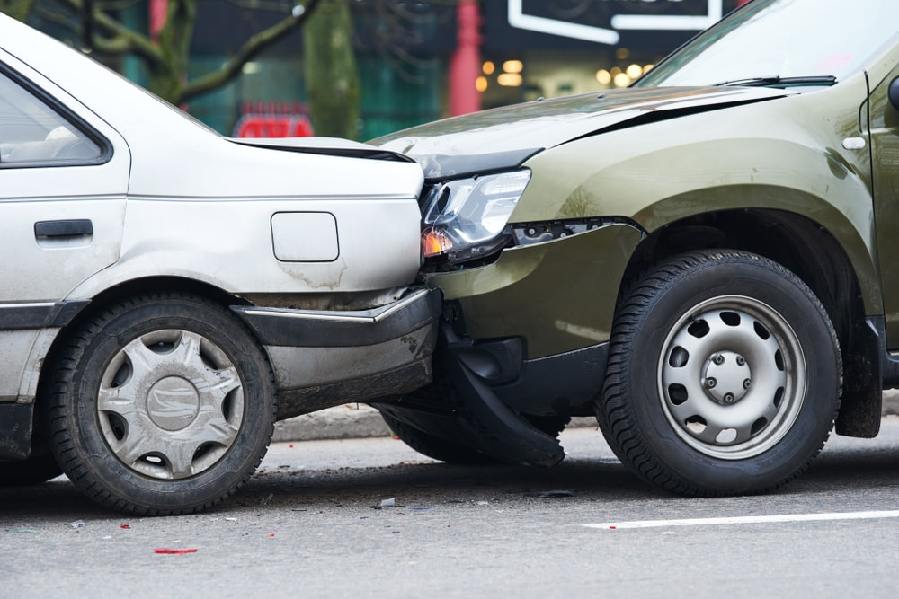 car accident goes to trial
